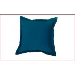 Capa Almofada 0,45X0,45M Azul Turquesa- Oxford