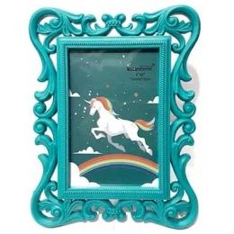 Porta Retrato Verde Tiffany 10X15Cm