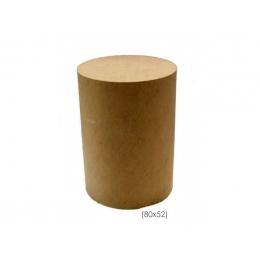 Cilindro (Mesa) MDF Crú H: 80cm D:52cm- G