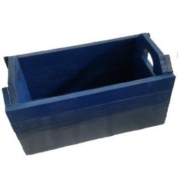 Caixote Feira G. Azul Royal 30x58x28Cm (LxCxH)