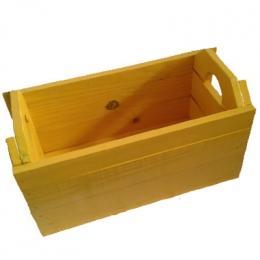 Caixote Feira G. Amarelo 30x58x28Cm (LxCxH)