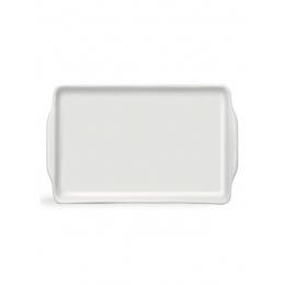 Prato (Bandeja) Retangular Porcelana Branca 20x13,5CM