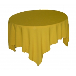 (Sobre) Toalha 1,50X1,50M Amarelo Sunshine