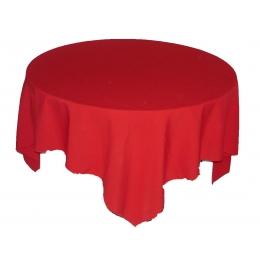 (Sobre) Toalha 1,50X1,50M Vermelho
