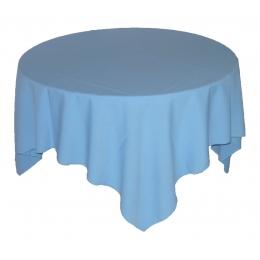 (Sobre) Toalha 1,50X1,50M Azul (Celeste) Glace
