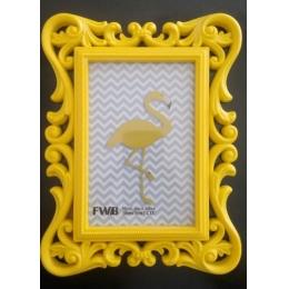 Porta Retrato Amarelo 10X15Cm