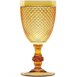Taça Vinho Bico De Jaca Âmbar 235Ml
