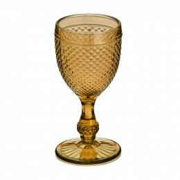 Taça Água Bico De Jaca Âmbar 255Ml