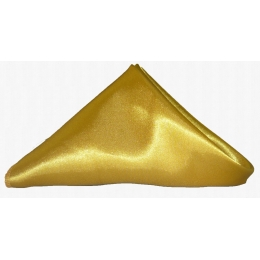 Guardanapo 0,35X0,35M Dourado Cetim