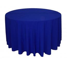 Toalha Redonda 3,00M Azul Royal Oxford