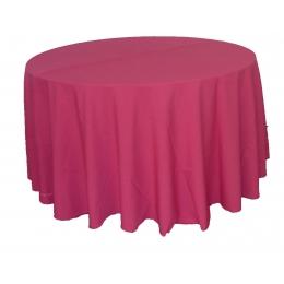 Toalha Redonda 3,00M Pink Oxford