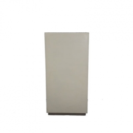 Coluna (Cubo) fechado 0,40X0,40M H 0,80M Branca
