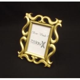 Porta Retrato Dourado 10X15
