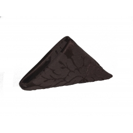 Guardanapo 0,35X0,35M Brocado Marrom Chocolate Jacquard