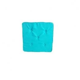 Futon 0,45X0,45M Azul Turquesa- Oxford