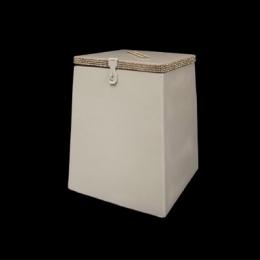 Urna Madeira Branca Grande 0,30X0,25M (Axl)
