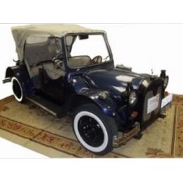Calhambeque Azul 1H Com Motorista