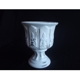 Vaso/ Taca P. Provençal Cerâmica H:23 D:18Cm