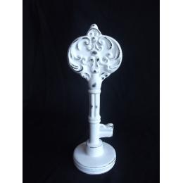 Enfeite Chave Provençal Cerâmica H:29Cm