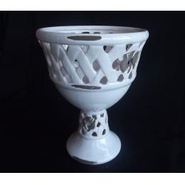 Vaso Provençal Cerâmica H:32 D:23Cm