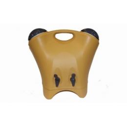 Garrafa Térmica Plástica Dupla 9L Amarela