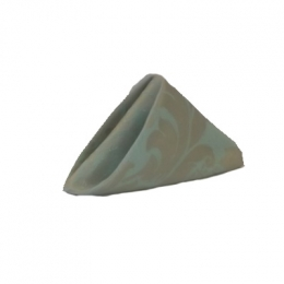 Guardanapo 0,35X0,35M Brocado Tiffany C/Dourado C/Bainha Jac