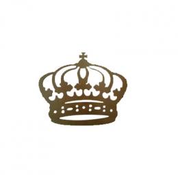 Coroa Em Mdf Rustica 32X69 Cm