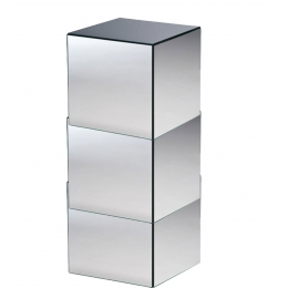 Coluna (Cubo) De Espelho C/ Rodas L:0,40X0,40 H:0,82M