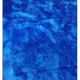Tapete 2,00X2,40M Azul Médio Pelo Alto