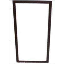 Espelho 1,70X0,90M C/ Moldura Madeira Marrom