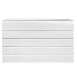 Balcão MDF Branco C/ Prateleiras 1,50X1,10X0,40M (CxHxP)