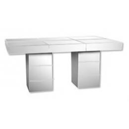 Kit Mesa Retangular de Espelho 2,10x80