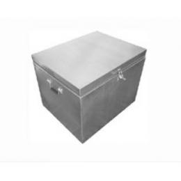 Hot Box (Container) Inox 30L Com Tampa E Fecho