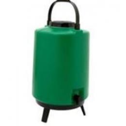 Garrafa Térmica Plástica Com Pé 9L Verde