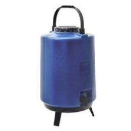 Garrafa Térmica Plástica Com Pé 12L Azul