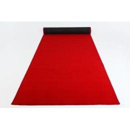 Passadeira Vermelha Veludo 15X1M