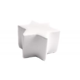 Puff Estrela P. Branco- 0,70M