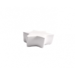 Puff Estrela Gig. Branco- 1,3M