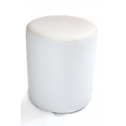 Puff Redondo P. Branco- D:0,37M