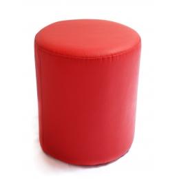 Puff Redondo P. Vermelho- D:0,37M