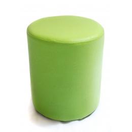Puff Redondo P. Verde Maca- D:0,37M