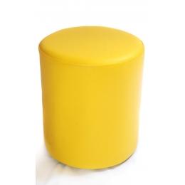 Puff Redondo P. Amarelo Escuro- D:0,37M