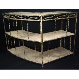 Bar De Ferro Aberto Dourado Envel. 1,10X1,20M P:0,50M