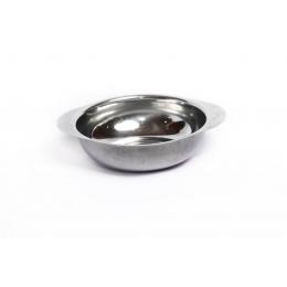 Taca (Tigela) Sobremesa Sem Pé Inox- Brinox 130Ml