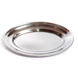 Travessa Oval Inox 40Cm