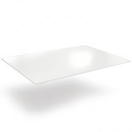 Tampo (Pranchão) Formica Branca 1,36X0,80M (4-6 Lugares)