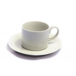 Xicara Chá Hotel Porcelana C/ Pires 200Ml