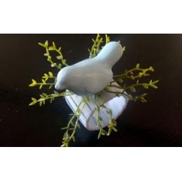 Argola Porta Guardanapo Pássaro- Azul