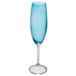 Taça Espumante Color 230Ml- Azul